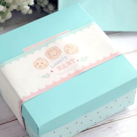 自選8入彌月巧貝禮盒8入-可愛動物造型/阿丸甜甜圈