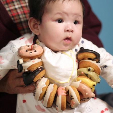 收涎甜甜圈