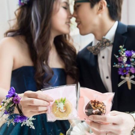 mini Donuts迷你甜甜圈100顆入-婚禮小物客製化/二次進場/送客禮