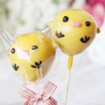 【阿丸甜甜圈】小雞丸子造型棒棒糖-檸檬芒果巧克力口味 10支入婚禮小物,二次進場,情人禮,送客禮